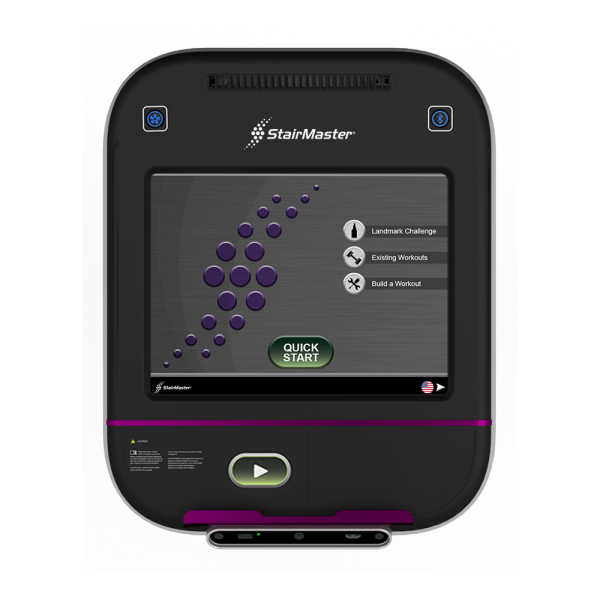 StairMaster 15 inch display