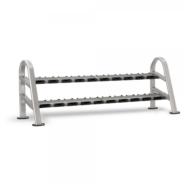 dumbbell rack 10 pair, 2-tier