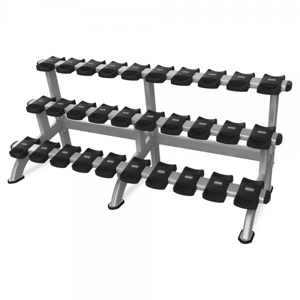 Triple Dumbbell Rack